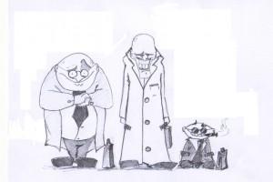 карикатура - Христо Гатев